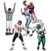 Football Figures- 4ct