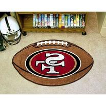 "San Francisco 49ers Football Rug 22""x35"
