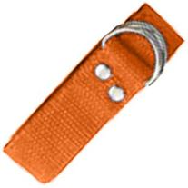 Champion Sports Orange Football Belt
