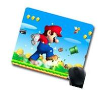 "for New Super Mario Brothers Oblong Mouse Pad 8"" x 9"