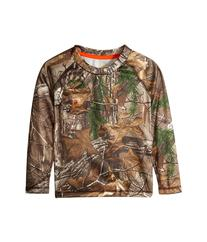 Carhartt Kids - Force Camo Pocket Tee   Boy's Long Sleeve