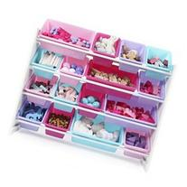 Tot Tutors Forever Super-Sized Toy Storage Organizer with 16