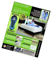 NEW Pure Form 6000 Dual Air Chambered Mattress *Pick Size*