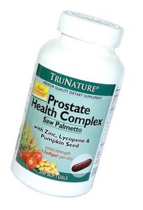New formula- TruNature Prostate Health Complex with Saw