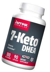 Jarrow Formulas 7-Keto DHEA, Enhances Metabolism, 100 mg, 90