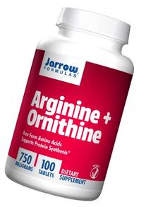 Jarrow Formulas Arginine and Ornithine, Sports Nutrition,