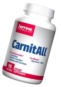 Jarrow Formulas CarnitAll, Supports Muscular and