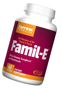 Jarrow Formulas Famil-E, Supports Cardiovascular Health, 60