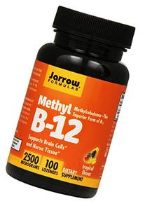Jarrow Formulas Methyl B-12,Supports Brain Cells and Nerve