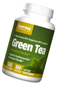 Jarrow Formulas - Green Tea 5:1, 500 mg, 100 capsules