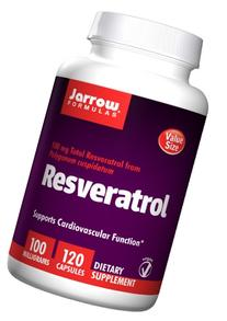 Jarrow Formulas Resveratrol, Supports Cardiovascular