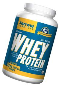 Jarrow Formulas: 100% Natural Whey Protein, Unflavored 2 lb