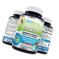 Pure Forskolin Extract 600mg - 90 Capsules w/ 40% Standardized Forskolin, Non-GMO & Gluten Free, Keto Diet Pills, Carb Blocker, Weight Loss Supplement