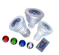 Excellent Four pieces 3W GU10 LED RGB Magic Lamp Spotlight