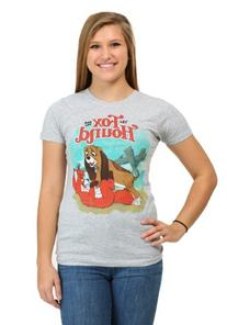 Womens Fox And The Hound Title Scene T-Shirt