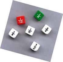16 Pack KOPLOW GAMES INC. FRACTION DICE SET OF 6
