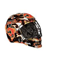 Franklin Sports NHL League Logo Calgary Flames Mini Goalie
