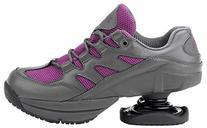 Z-CoiL Women's Freedom Slip Resistant Fuchsia Leather Tennis
