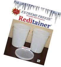 Reditainer Extreme Freeze Deli Food Containers with Lids, 32