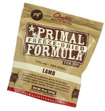 Primal Pet Foods Freeze-Dried Canine Lamb Formula Nt. Wt. 14