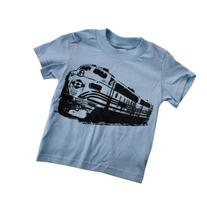 Happy Family Freight Train Engine Kids T Shirt