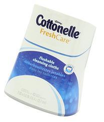Cottonelle Fresh Care Flushable Moist Wipes Upright