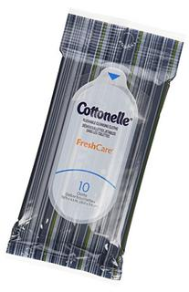 Cottonelle Fresh Care Flushable Wipes, Travel Pack, 12
