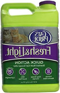 Fresh and Light Multi-Cat Premium Clumping Litter Jug, 15-