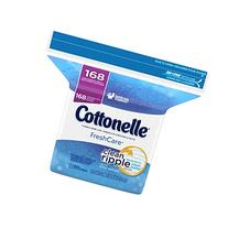 Cottonelle FreshCare Flushable Cleansing Cloths Refill, 168