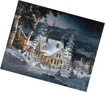 White Mountain Puzzles Friends in Winter - 1000 Piece Jigsaw