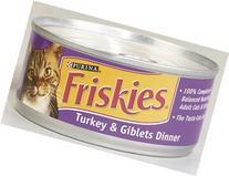 Friskies Cat Food Turkey 5.5 Oz Can