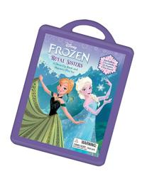 Frozen Book and Magnetic Play Set: A Dress-Up Book and