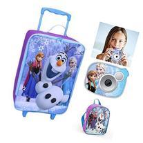 Disney Frozen Kids Travel Adventure Set - Rolling Luggage,