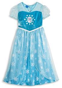 Disney Frozen Elsa Girls Short Sleeve Nightgown Pajama