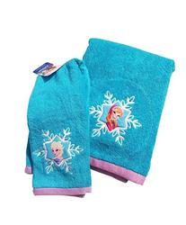 Disney Frozen ~ Embroidered Bath Towel SET