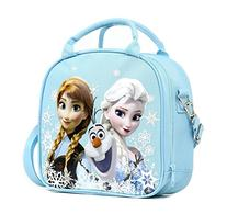 Disney Frozen Lunch Box Carry Bag with Shoulder Strap and