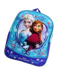 "Frozen 11"" Mini Backpack with Metallic Piping"