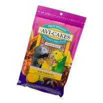 """Lafebers Fruit Delight Avi-Cakes for Parrots 8oz Bag """"Bird"""