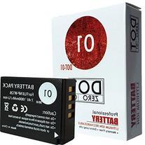 DOT-01 Brand 1800 mAh Replacement Fujifilm NP-W126 Battery