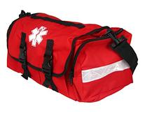 Dixie Ems Fully Stocked First Responder On Call Kit, Red