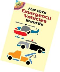 Fun with Emergency Vehicles Stencils