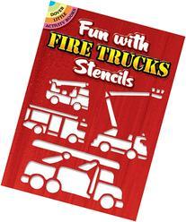 Fun with Fire Trucks Stencils