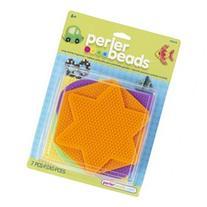 Perler 28500P Perler Fun Fusion Bead Pegboards 5/Pkg