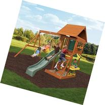 New Fun Stuff Backyard Cedar Playset Summit Gym Sandy Play