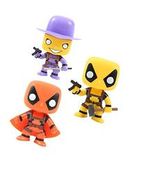 Funko Pop! Marvel Deadpool Stingray Slapstick Madcap Set of