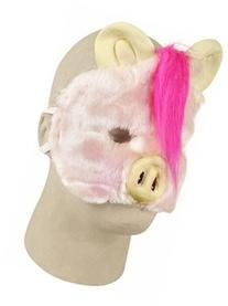 Funny Plush Pig Costume Face Mask
