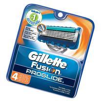 Gillette Fusion ProGlide Razor Cartridge Refills, 4 count