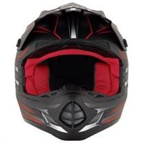 AFX FX-17 Gear MX/Offroad Helmet Red/Black MD