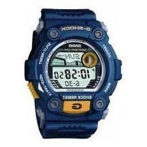 Casio Men's G-7900-2DR G-Shock Blue Resin Digital Dial Watch