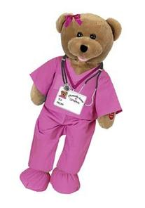Chantilly Lane G1039 19 in. Scrubs Female bear sings, I Wll